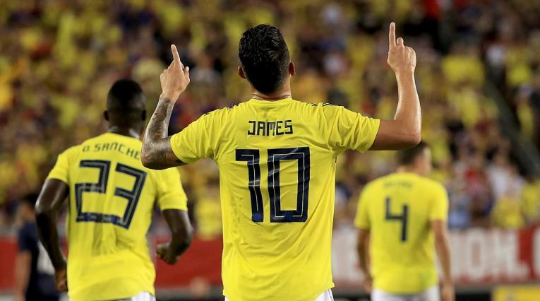 James Rodríguez - EE.UU. vs Colombia