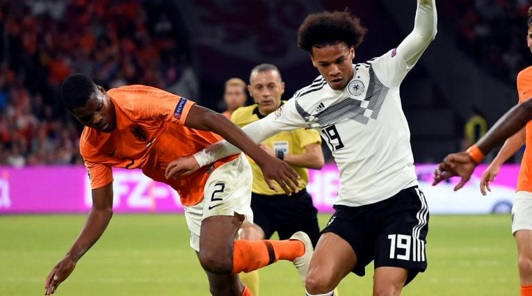 Holanda Vs Alemania · Liga de Naciones 2018