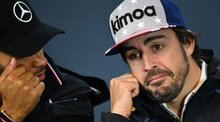Fernando Alonso, piloto de la escudería McLaren