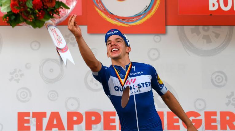 Álvaro Hodeg se llevó su quinto triunfo de la temporada