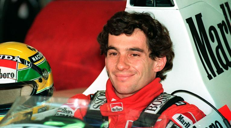 Ayrton Senna, campeón por primera vez en 1988 en la Fórmula 1 con McLaren