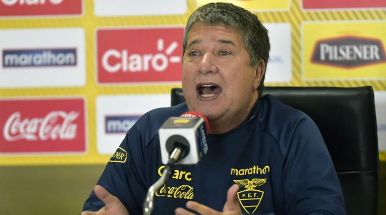 Hernán Darío Gómez, técnico de Ecuador