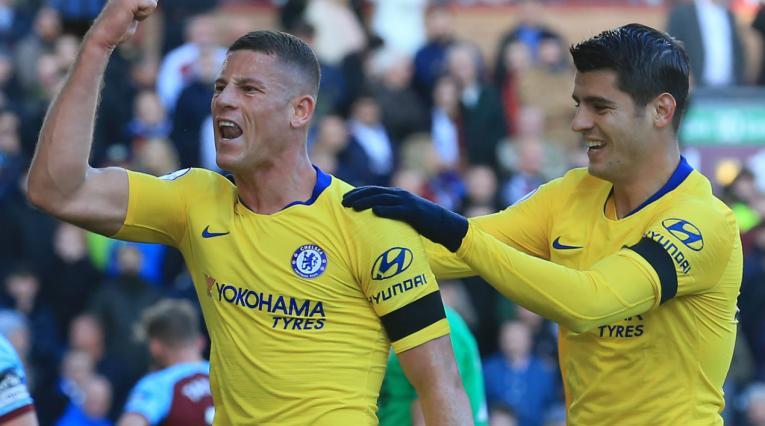 Chelsea derrotó al Bernley por la Premier League