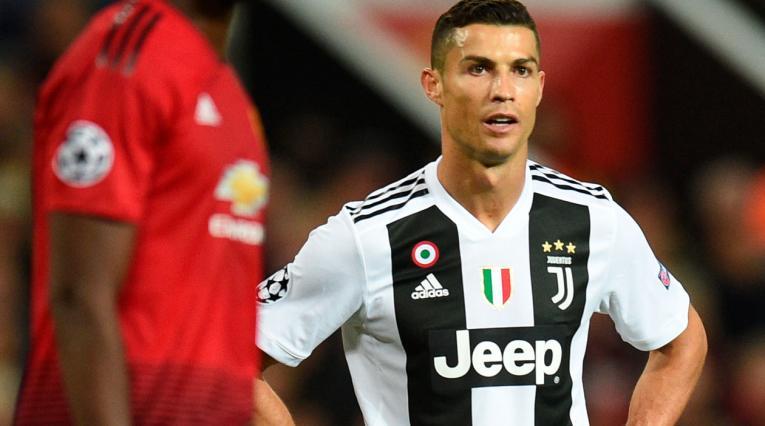 Cristiano Ronaldo volvió a verse las caras ante el Manchester United.