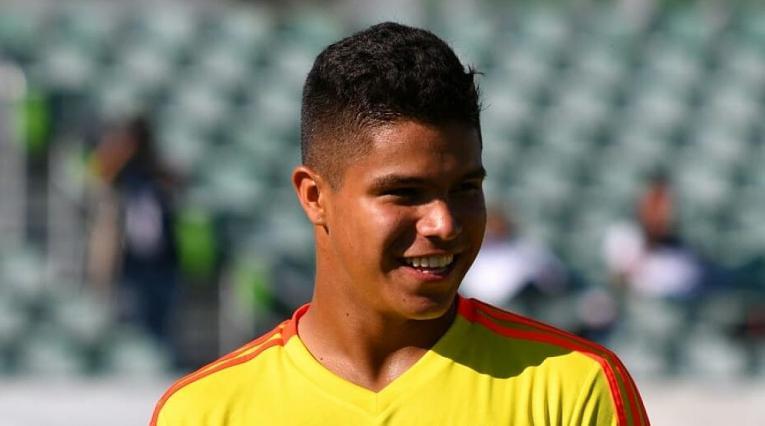 Juan Camilo 'Cucho' Hernández debutó haciendo doblete con la Selección Colombia frente a Costa Rica