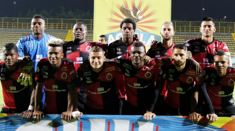 Cúcuta Deportivo, equipo formado