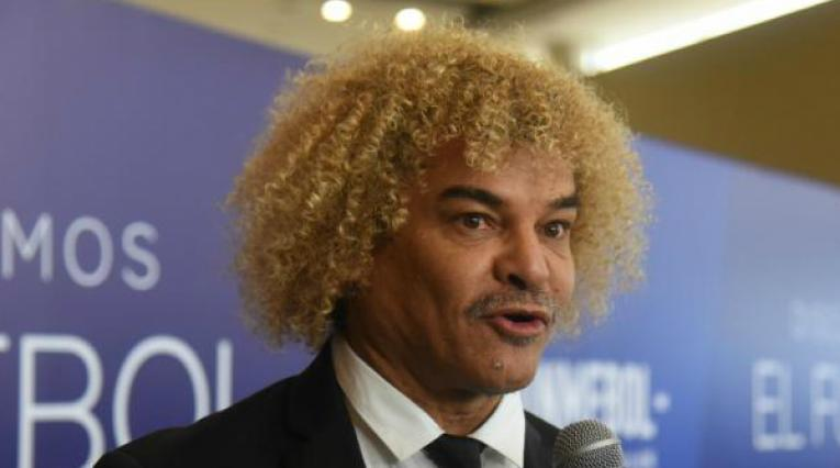 Carlos 'El Pibe' Valderrama, exfutbolista colombiano