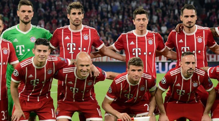 Formación del Bayern Múnich