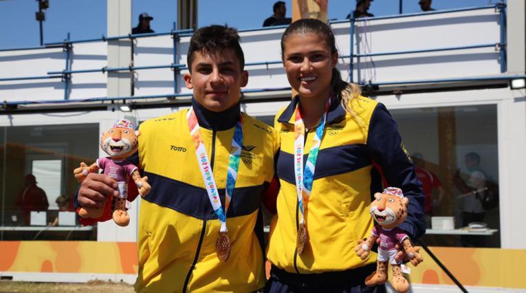 Gabriela Bolle y Juan Camilo Ramírez