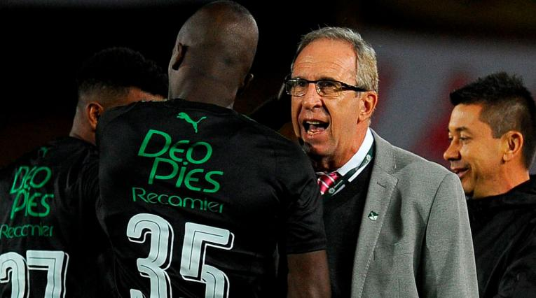 Gerardo Pelusso, técnico del Deportivo Cali que reconoció el mal partido d su equipo ante Patriotas