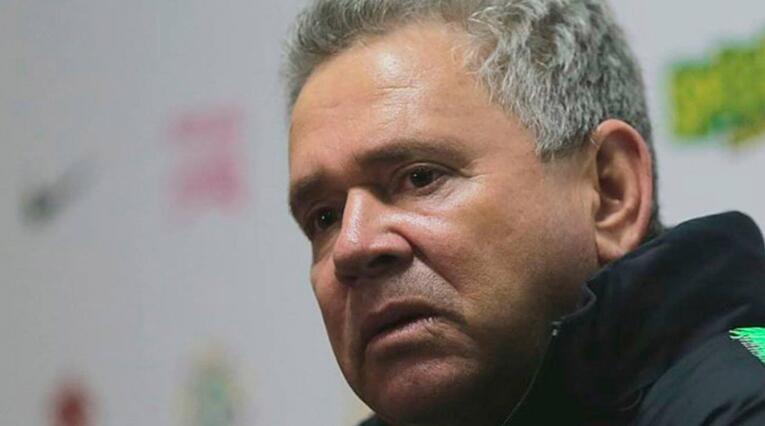 Hernán Darío Herrera, técnico interino de Atlético Nacional