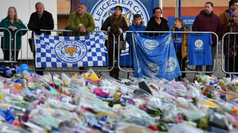 Leicester lamentó el fallecimiento de su Presidente
