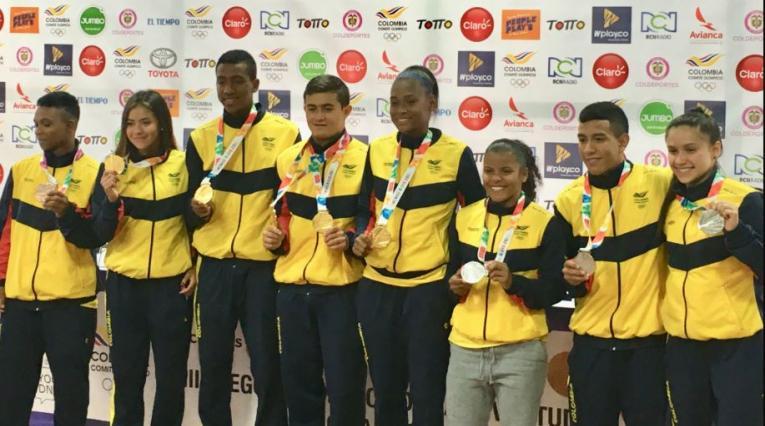 Medallistas colombianos en los Juegos de la Juventud