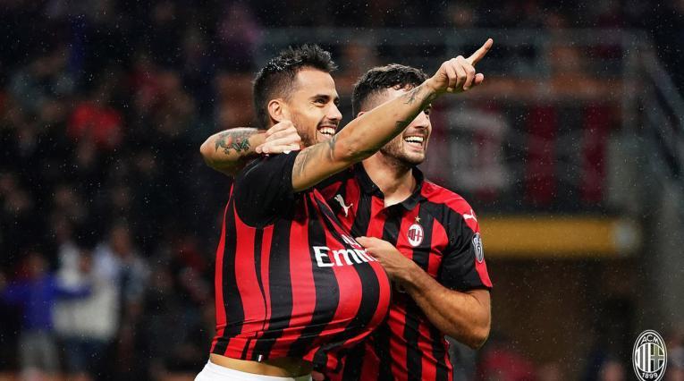 Jugadores del Milan