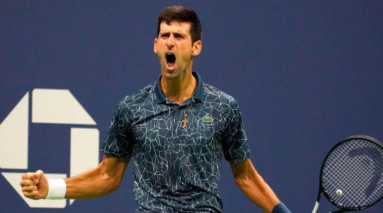 Novak Djokovic, tenista serbio, campeón del Masters 1.000 de Shanghái 2018.
