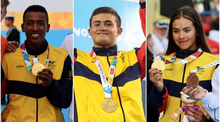 Colombia tiene 3 oros en los Olímpiocos de la Juventud