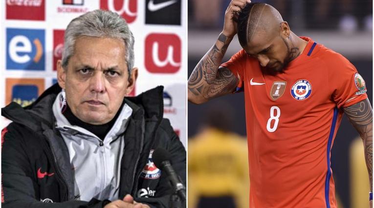 Reinaldo Rueda y Arturo Vidal
