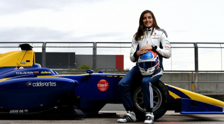La colombiana Tatiana Calderón conducirá un carro de Fórmula 1