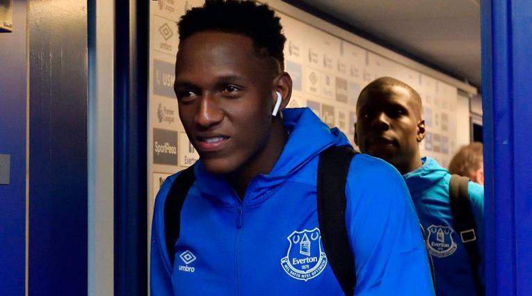 Yerry Mina sigue sin actuar en la Premier League con el Everton