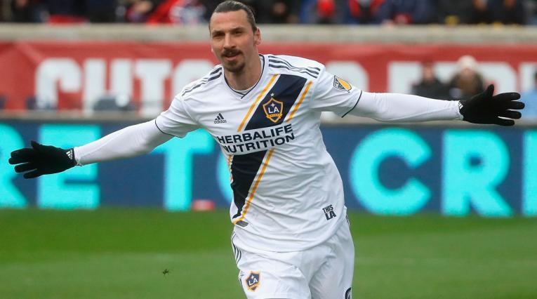Zlatan Ibrahimovic, jugador de L.A. Galaxy
