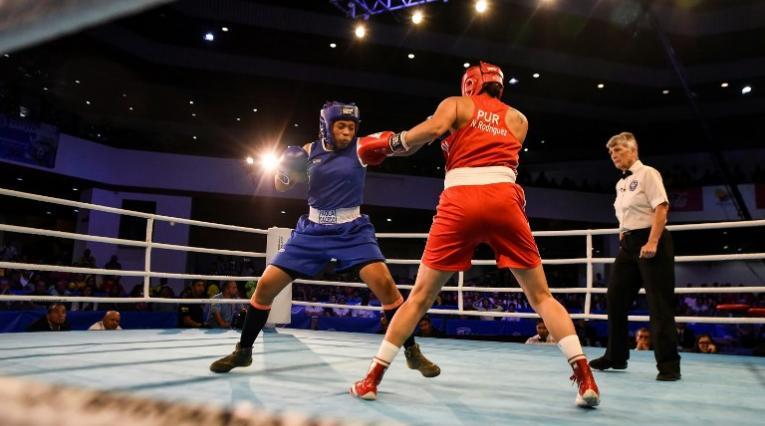 La boxeadora Jessica Caicedo, a la final.