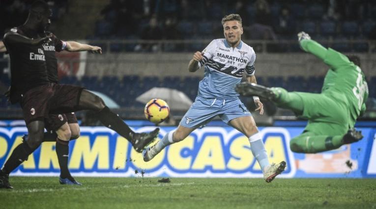 Lazio vs Milan, Serie A