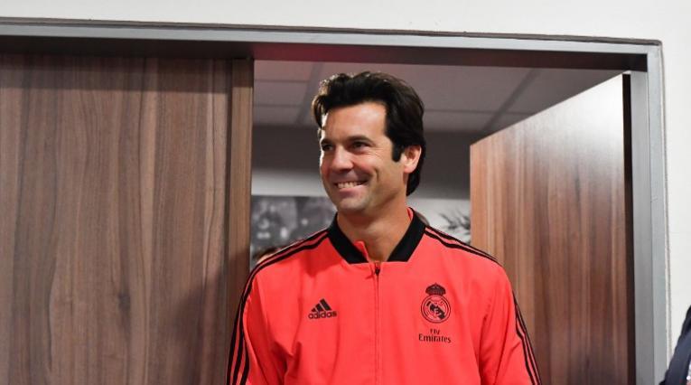 Santiago Solari convenció a la directiva del Real Madrid para seguir como DT del primer equipo