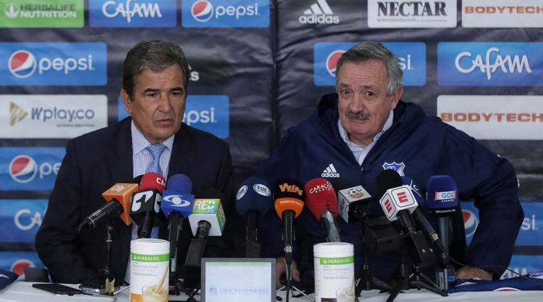 Jorge Luis Pinto y Enrique Camacho