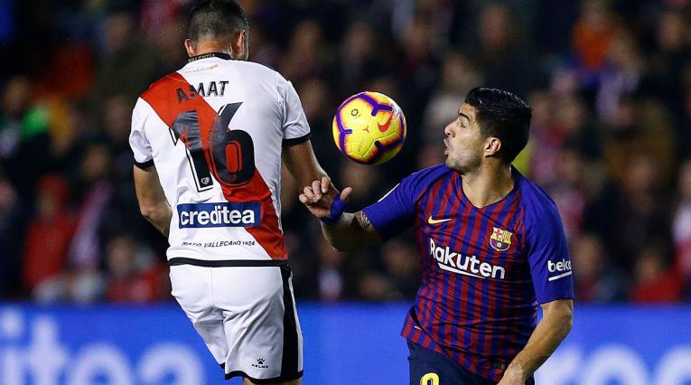 Barcelona no fue el mismo ante Rayo Vallecano en la liga española