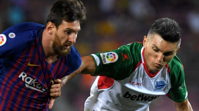 Daniel Torres, jugador colombiano al servicio del Alavés de España desde 2016