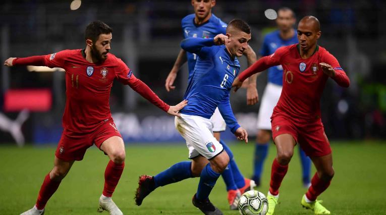 Italia Vs. Portugal