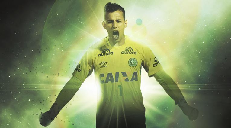 Danilo, el arquero que le dio el paso a la final a Chapecoense