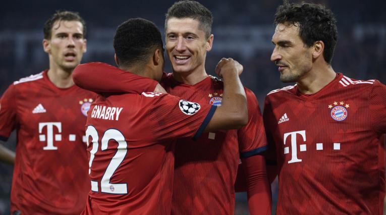 Bayern Múnich derrotó al AEK Atenas