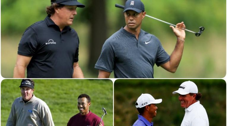 Tiger Woods y Phil Mickelson han jugado juntos en 37 oportunidades