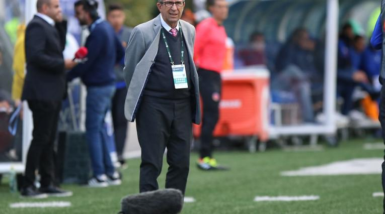 Gerardo Pelusso, técnico del Deportivo Cali