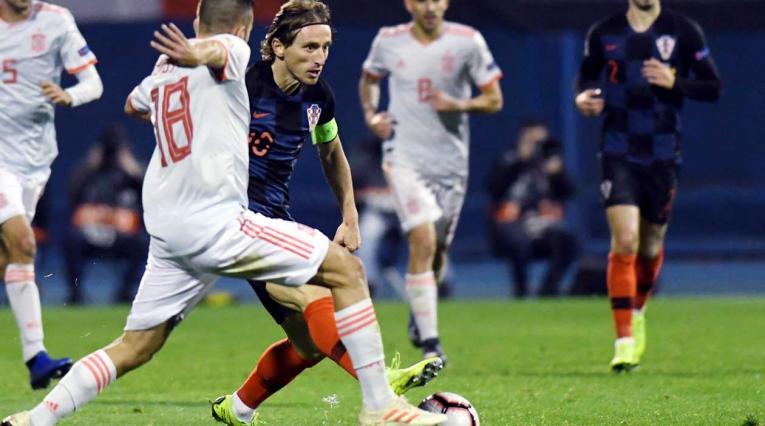 Croacia vs España - Nations League 2018