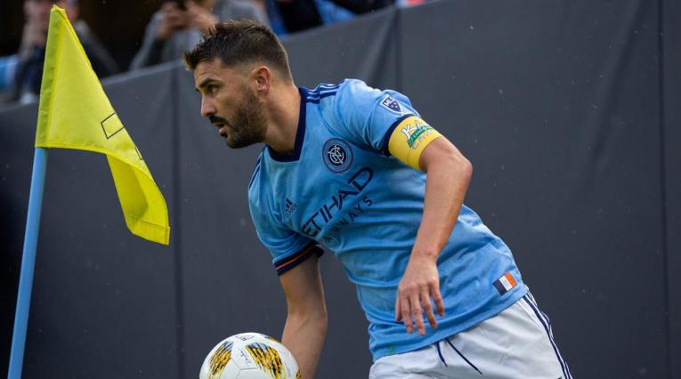 David Villa puso fin a su paso por la MLS en el New York City FC
