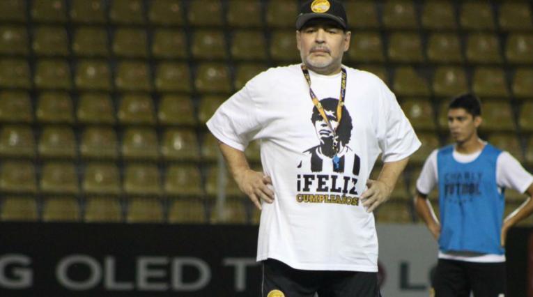 Diego Maradona - Dorados de Sinaloa 2018