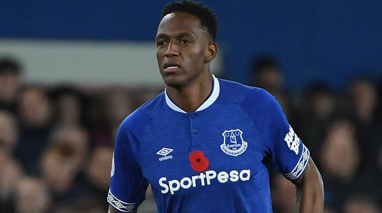 Yerry Mina · Everton 2018