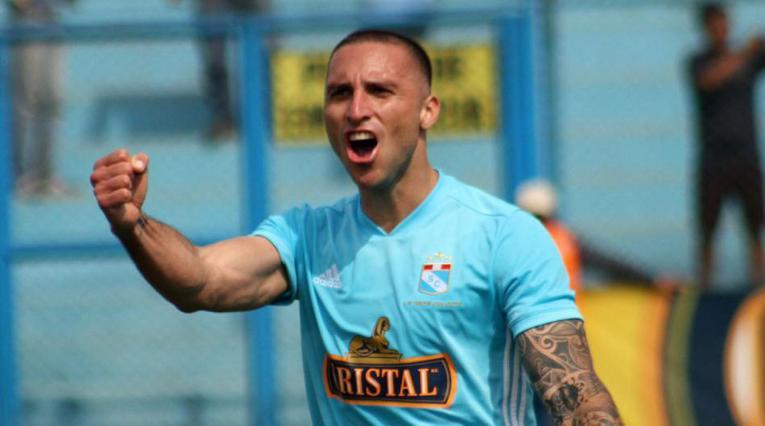 Emanuel Herrera, jugador del Sporting Cristal de Perú