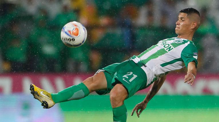 Jorman Campuzano, jugador de Atlético Nacional