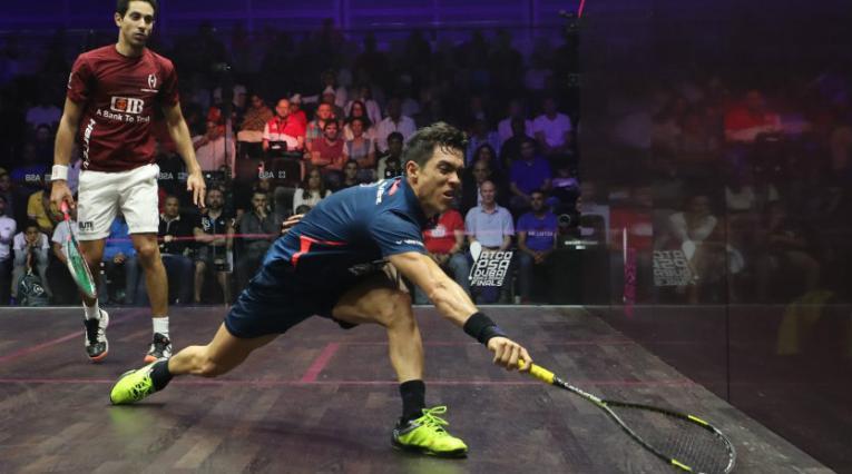 Miguel Ángel Rodríguez, squashista colombiano.