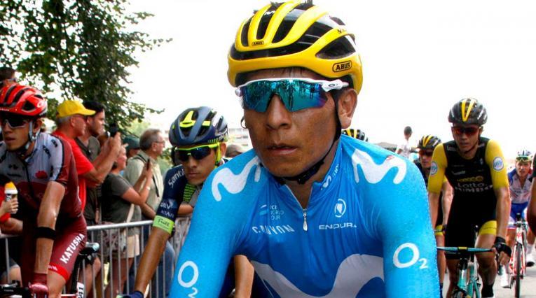 Nairo Quintana, uno de los capos del Movistar Team