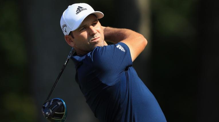 Sergio García, golfista español