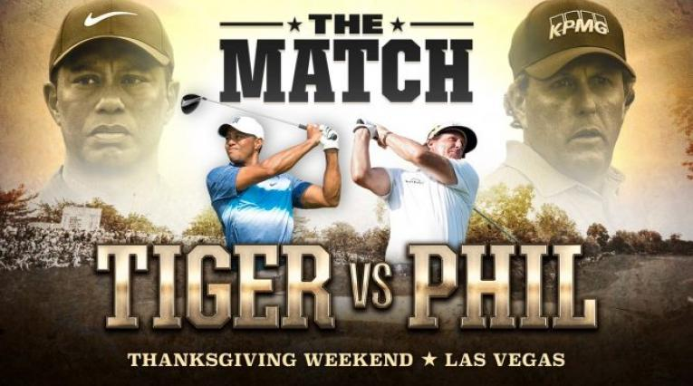 Tiger Woods vs Phil Mickelson, cartel oficial