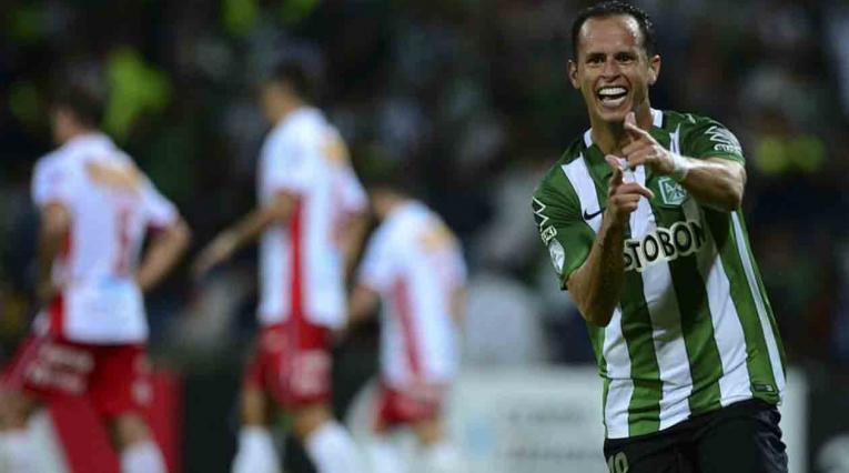 Alejandro Guerra, jugador venezolano actuando con Atlético Nacional