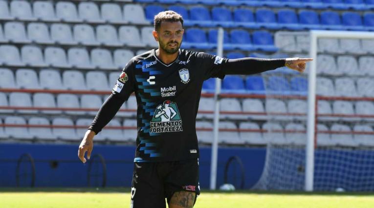 Edwin Cardona, jugador de Pachuca