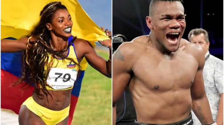 Caterine Ibargüen y Eléider Álvarez, deportistas colombianos en el Top diez del año