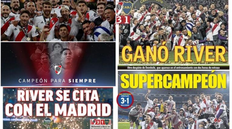 River Plate, campeón de la Copa Libertadores