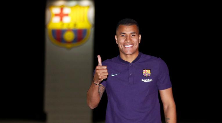 Jeison Murillo como nuevo jugador del Barcelona